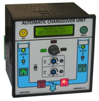 Automatic Changeover for 2 C.B.s AM530D-1
