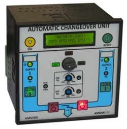 Automatic Changeover for 2 C.B.s AM530D